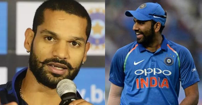 Shikhar Dhawan gives a hilarious answer when asked about his opening partner Rohit Sharma
