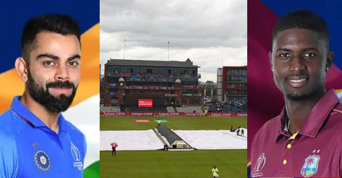 India vs West Indies , Manchester weather