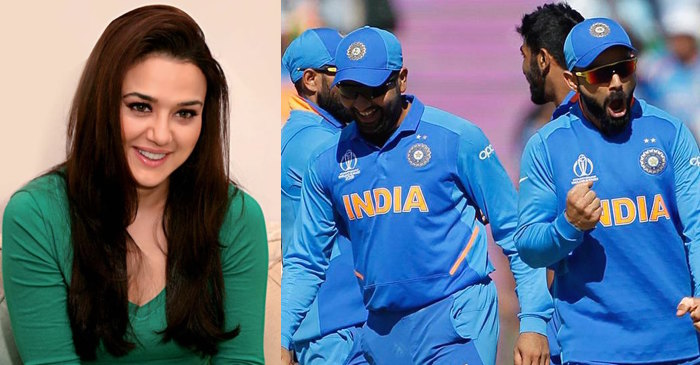 Preity Zinta, Team India