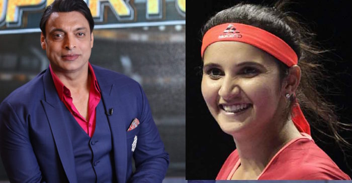 Shoaib Akhtar, Sania Mirza