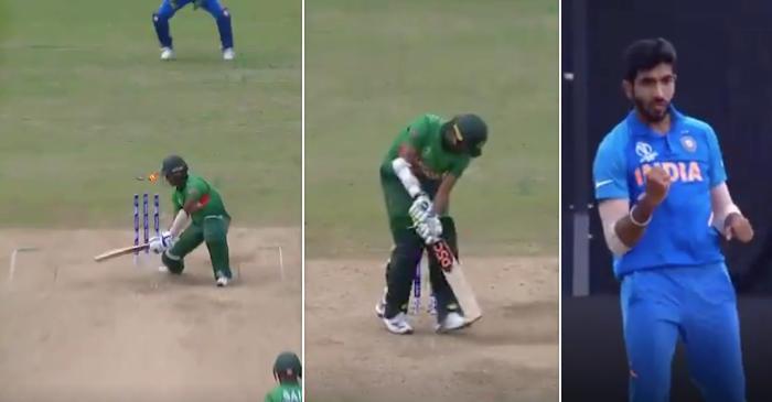 Jasprit Bumrah bowled Bangladesh batsmen with yorkers