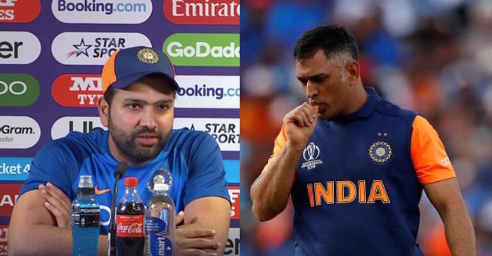 Rohit Sharma, MS Dhoni