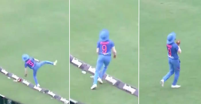 Manish Pandey catch