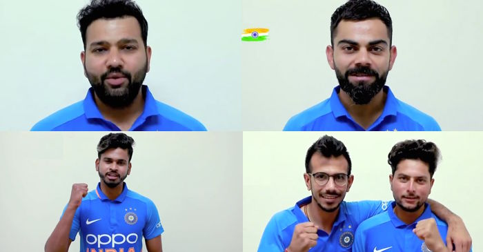 Virat Kohli, Rohit Sharma, Shreyas Iyer, Yuzvendra Chahal, Kuldeep Yadav, India Independence Day