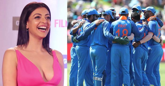 Kajal Aggarwal, Indian cricketers