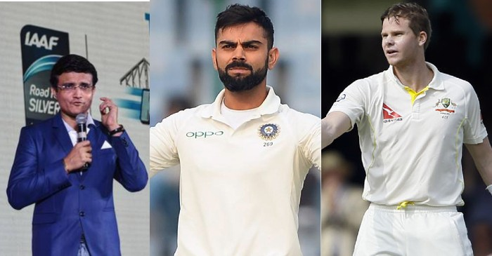 Sourav Ganguly, Virat Kohli, Steve Smith