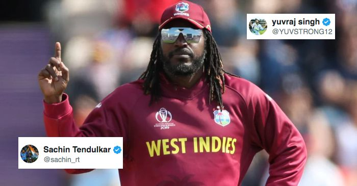 From Sachin Tendulkar to Yuvraj Singh, here is how cricket fraternity wished Chris Gayle on his 40th birthday
