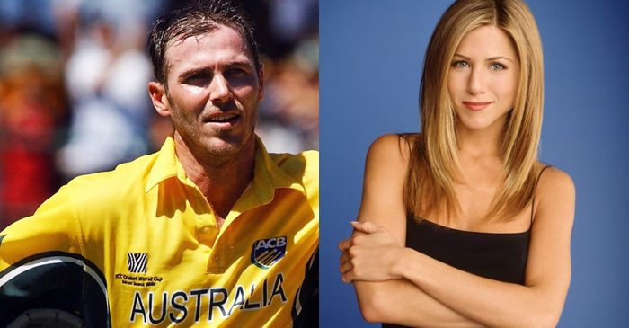 Damien-Martyn-Jennifer-Aniston