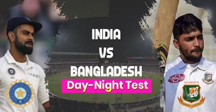 India vs Bangladesh Day Night Test