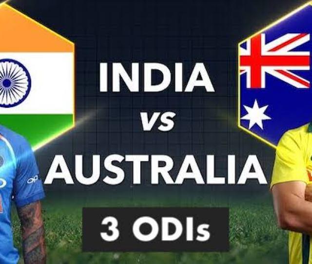 India Vs Australia  Schedule Squads Match Timings Tv