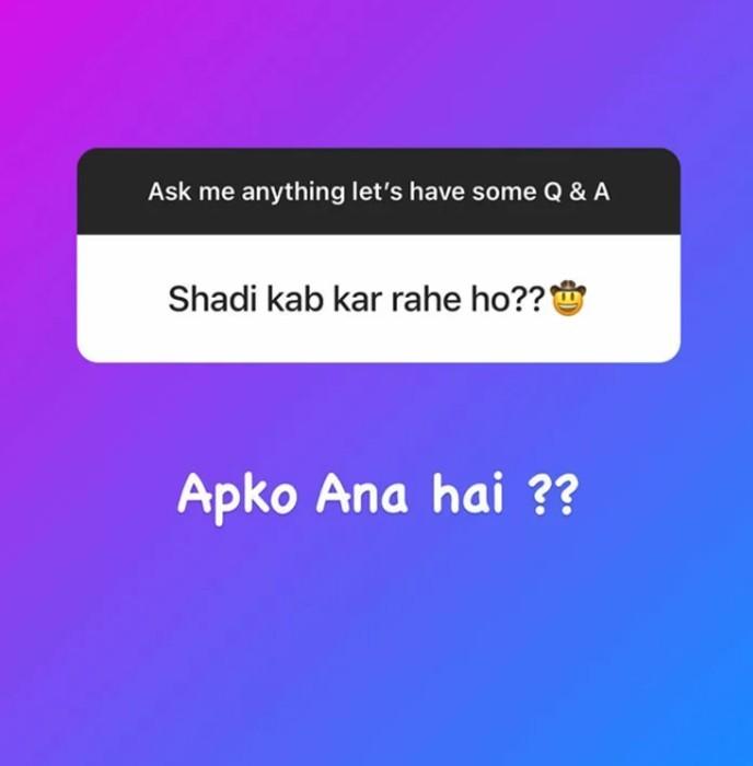 Rashid Khan Instagram Story