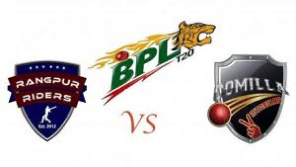 Match prediction of Rangpur riders vs Comilla victorians