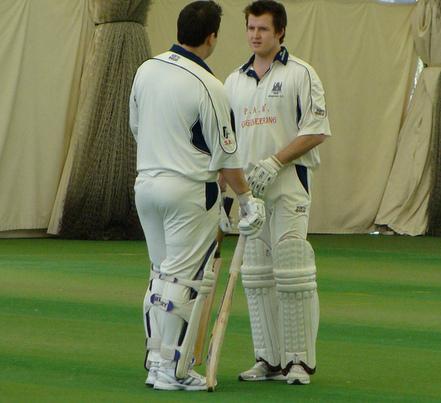 indoor cricketers