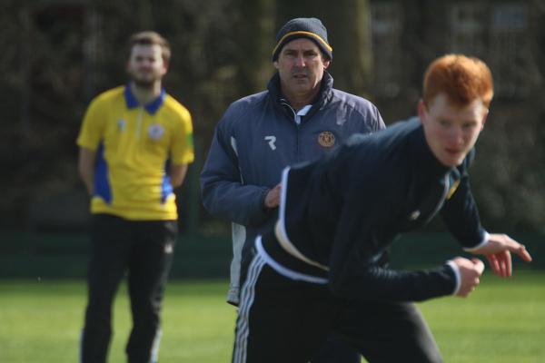 Leeds Bradford MCCU Head Coach Andrew Lawson