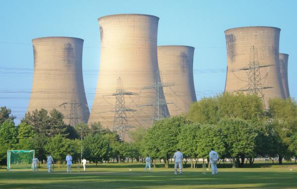 eggborough power station cricket