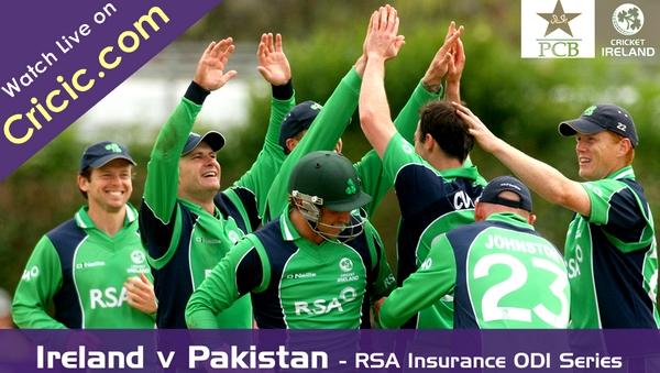 Watch Pakistan vs Ireland ODI Live Cricket Streaming