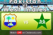 Watch Pakistan vs West Indies 2013 Live Cricket Streaming in HD