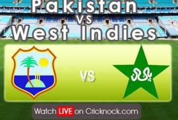 Watch Pakistan vs West Indies 2013 Live Cricket Streaming in HD