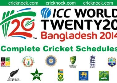ICC T20 World Cup 2014 Fixtures