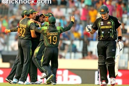 Watch Pakistan vs Australia T20 World Cup 2014 Highlights