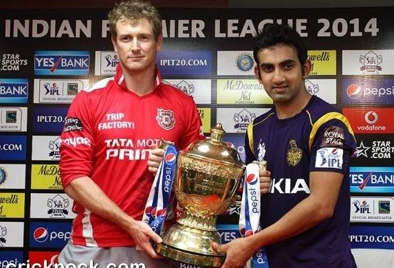 Kings XI Punjab Meet Kolkata Knight Riders in IPL7 Final