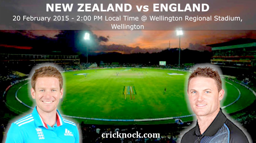 New Zealand vs England Highlights – ICC Cricket World Cup 2015