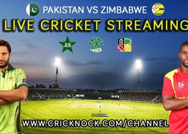 Watch Pakistan vs Zimbabwe Live Cricket Streaming online for free