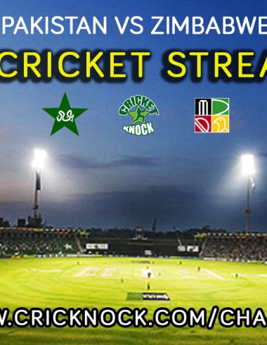 Watch Pakistan vs Zimbabwe Live Cricket Streaming online for free