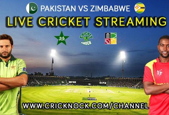 Watch Pakistan vs Zimbabwe Live Cricket Streaming 2015