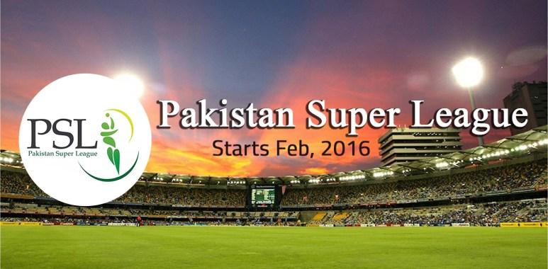 Pakistan Super League (PSL T20) to Start in February 2016