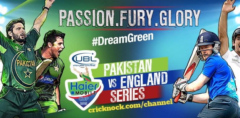 Pakistan vs England 2015