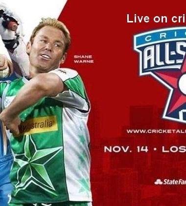 Cricket All-Stars Live Cricket Streaming