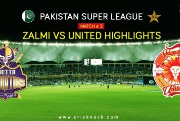 PSL T20 Match 3   Watch Islamabad United vs Peshawar Zalmi Highlights
