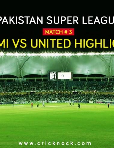 Peshawar Zalmi vs Islamabd United Highlights