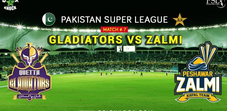 Watch Peshawar Zalmi vs Quetta Gladiators Highlights