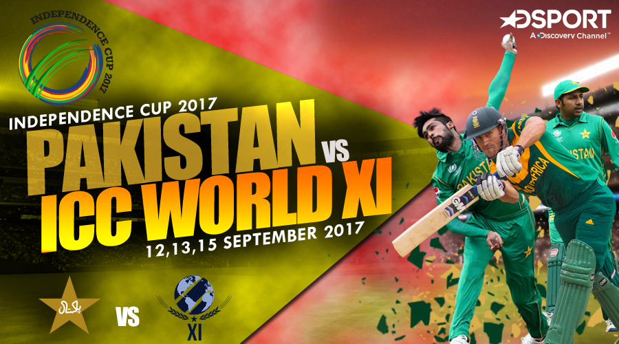 Independence Cup 2017 Schedule: Pakistan vs ICC World XI