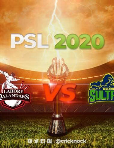 Lahore Qalandars vs Multan Sultan