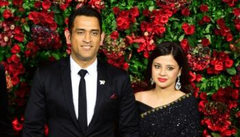 MS Dhoni Sakshi wedding anniversary