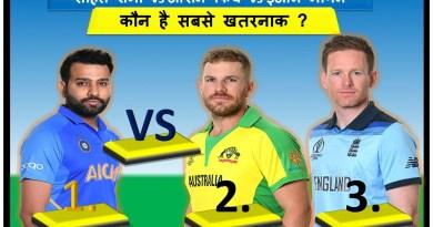 rohit sharma vs aaron finch vs ion morgan
