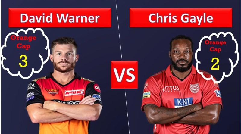 David Warner vs Chris Gayle