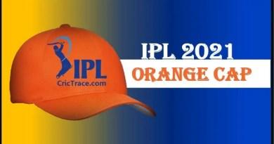 IPL 2021 Orange cap