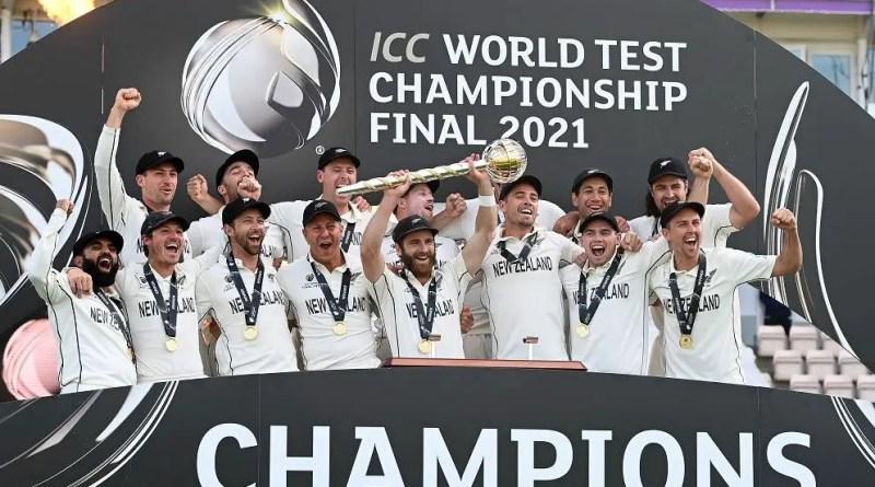 New Zealand Win WTC Final