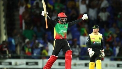 St Kitts and Nevis Patriots eliminated
