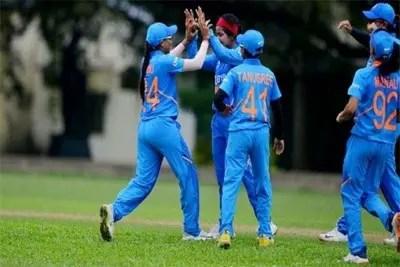 India Women beat Pakistan Women in ACC Cup 1
