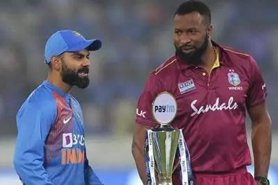 India vs West Indies 3rd T20I Live Cricket Score 2
