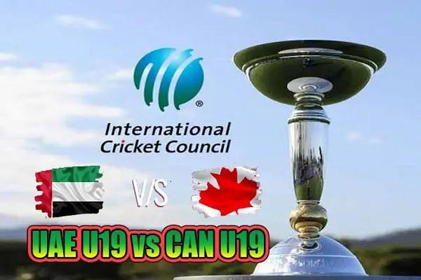 UAE U19 vs CAN U19 Live Score 13th Place Playoff of U19 WC between United Arab Emirates U19 vs Canada U19on 1 February 2020 Live Score & Live Streaming