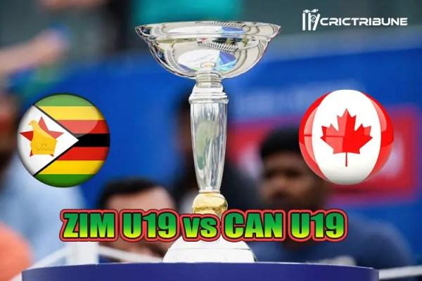 Zimbabwe U19 vs Canada U19