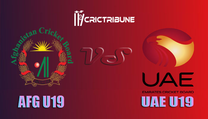 AF U19 vs UAE U19 Live Score, 13th Match, Afghanistan U19 vs United Arab Emirates U19 Live 1