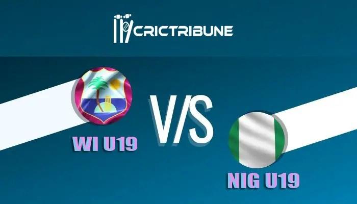 WI U19 vs NIG U19 Live Score, 17th Match, West Indies U19 vs Nigeria U19 Live 1