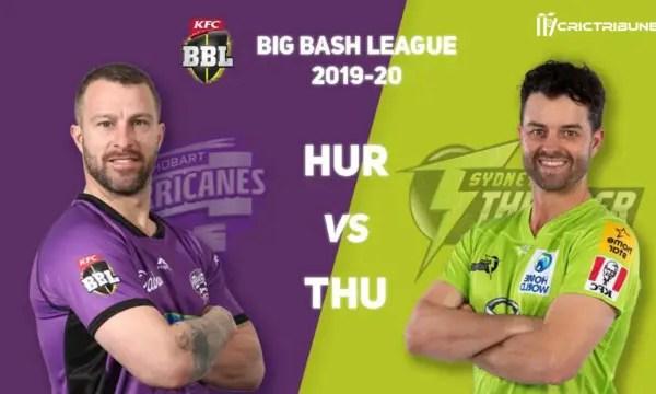 THU vs HUR Live Score Eliminator of BBL 2020 between Melbourne Renegades Vs Brisbane Heat on 27 January 20 Live Score & Live Streaming